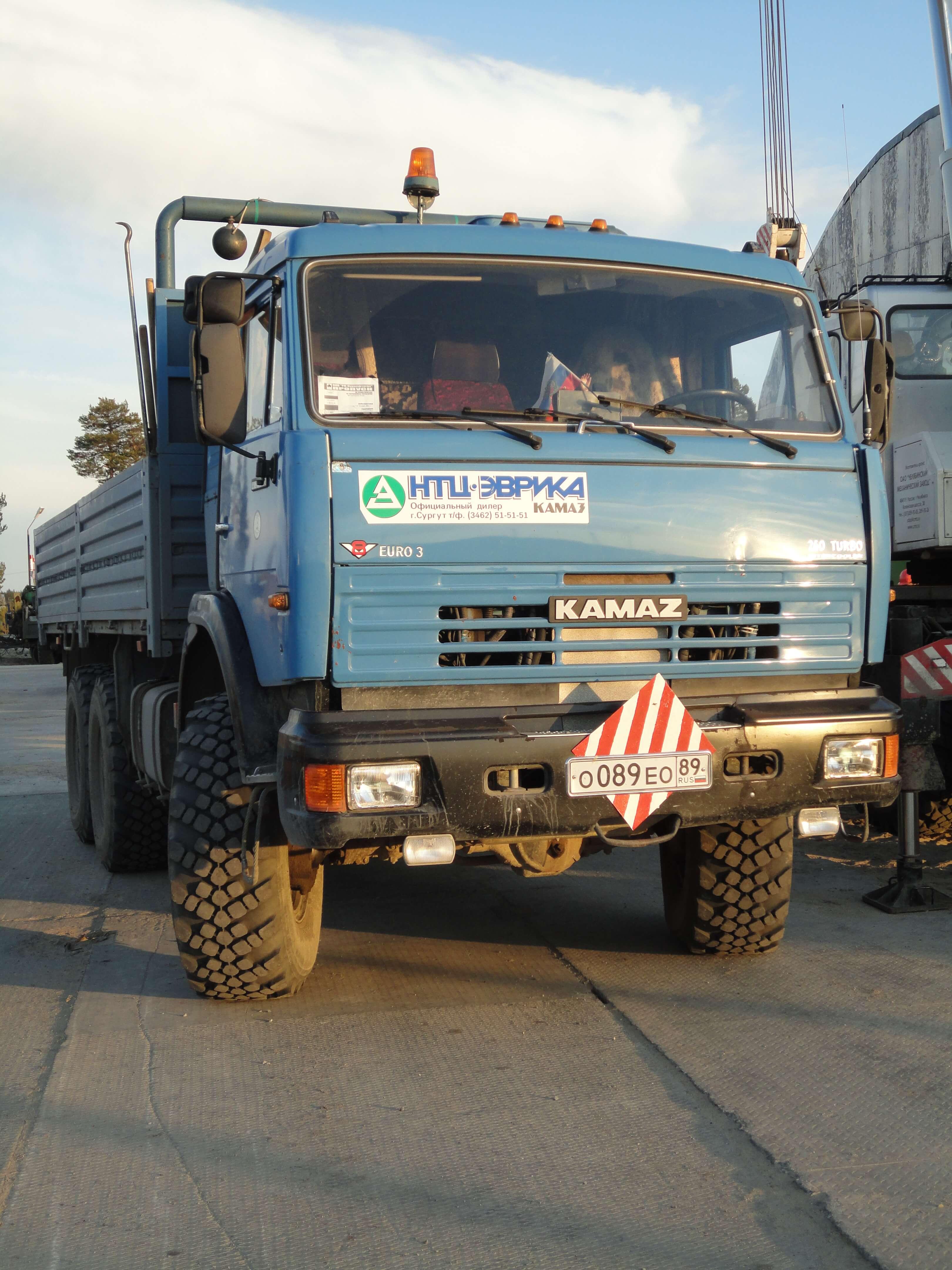 Автомобиль Камаз 43118-10 Бортовой