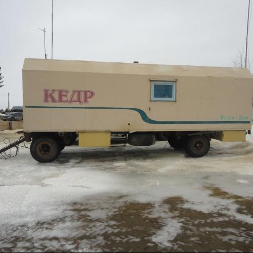 Жилой вагон Кедр-4