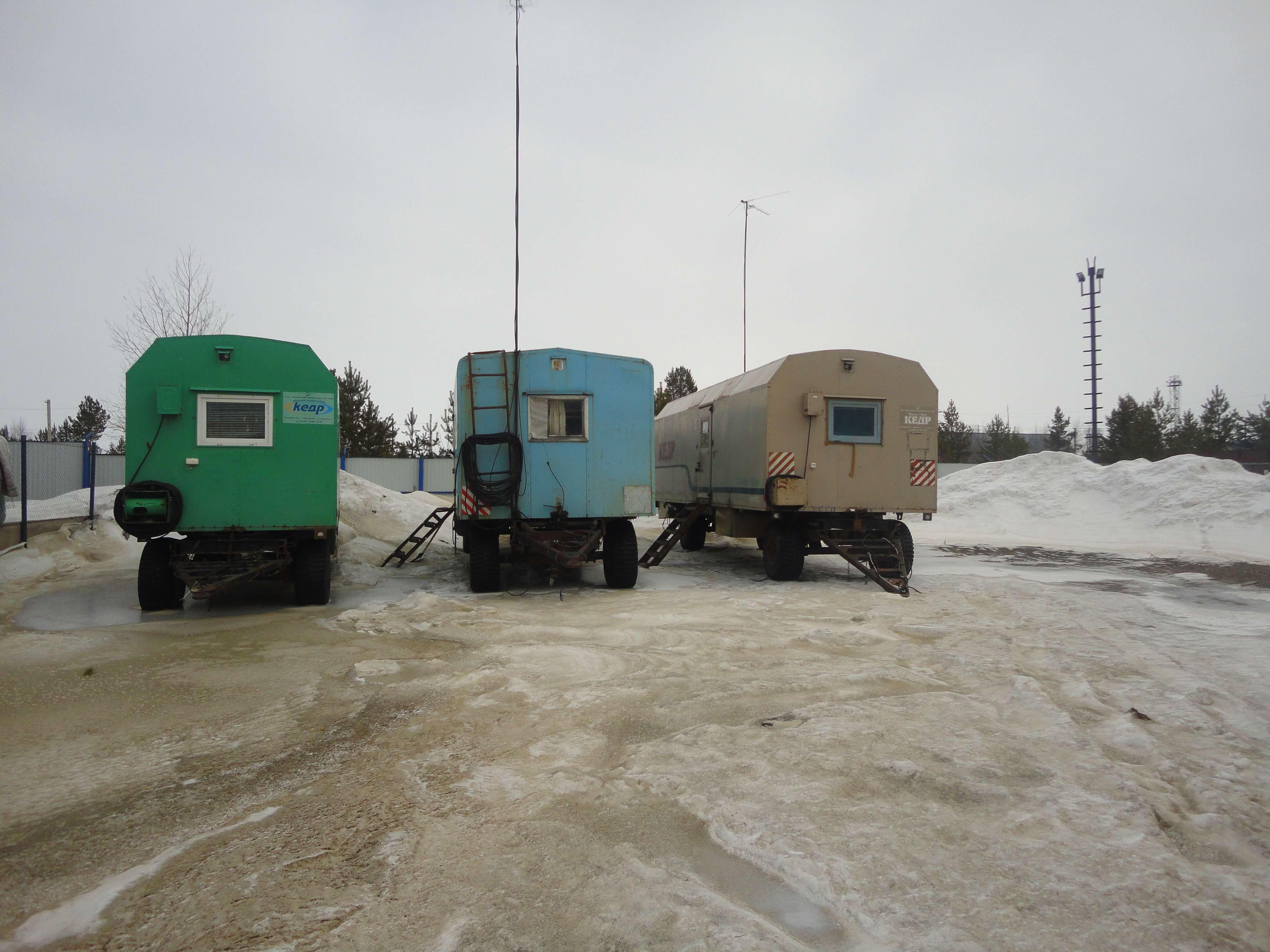 Жилой вагон Кедр-4 фото2