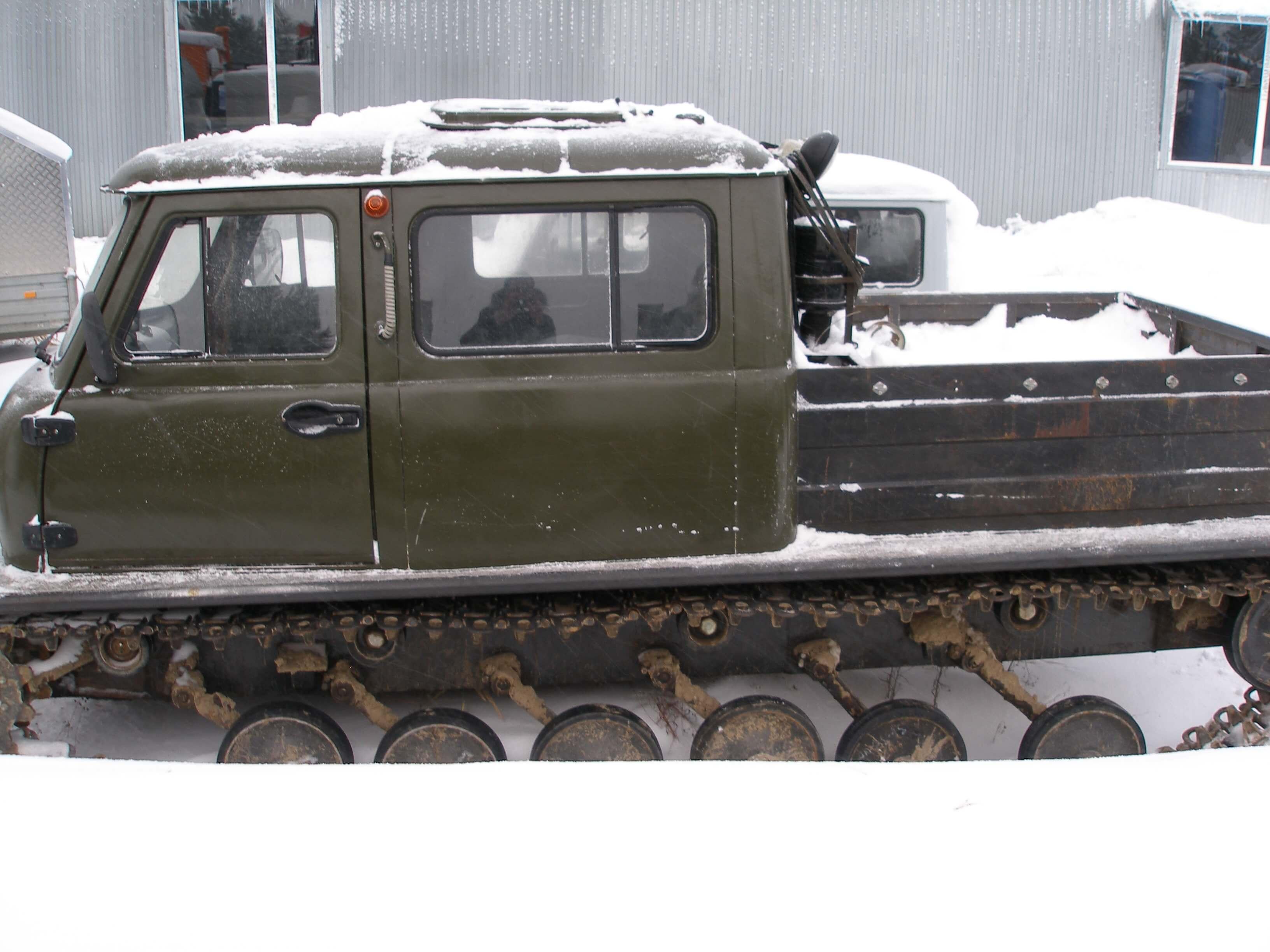Гусеничный снегоболотоход ЗВМ-2410 Узола