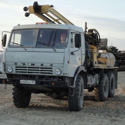 Буровая установка УРБ 2А2 на шасси автомобиля Камаз 4320
