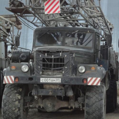 Буровая установка УРБ 3А3 на шасси КРАЗ 255Б