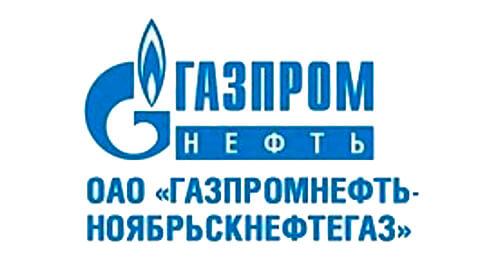Лого ОАО Газпромнефть - Ноябрьскнефтегаз